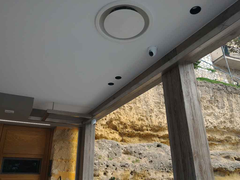 Telecamera Mini Dome a soffitto